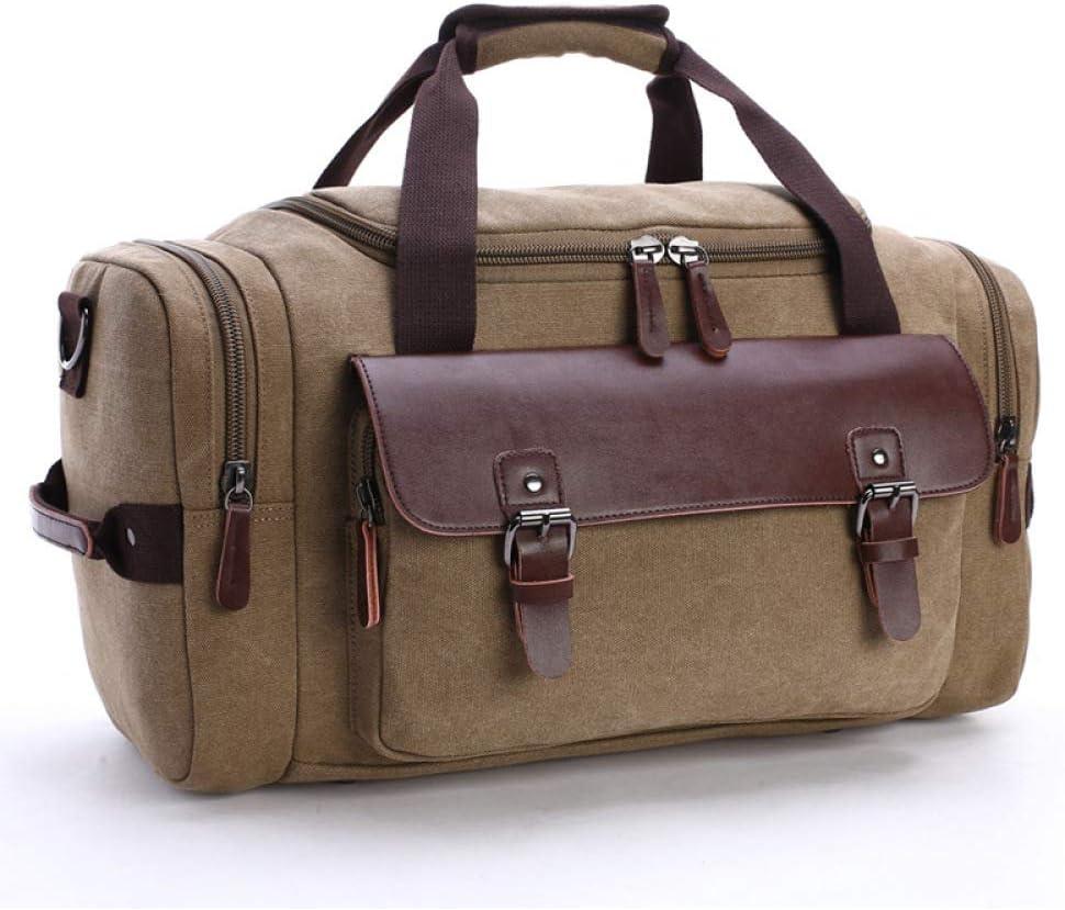 Bolsa de Viaje de Lona de Gran Capacidad, Cachi (Beige) - CHQ1585455665: Amazon.es: Equipaje