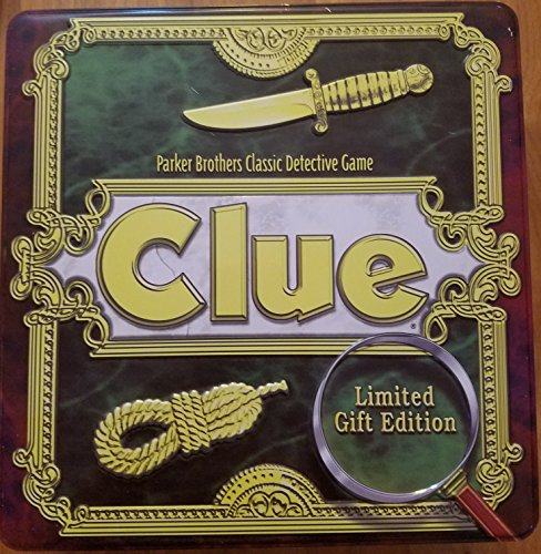 LIMITED SPECIAL GIFT EDITION TIN BOARDGAME Parker Brothers - CLUE (1997)