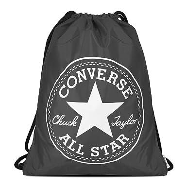 Converse - Big Logo Cinch Backpack - Charcoal  Amazon.co.uk  Sports ... 6a27e3e1ffa31