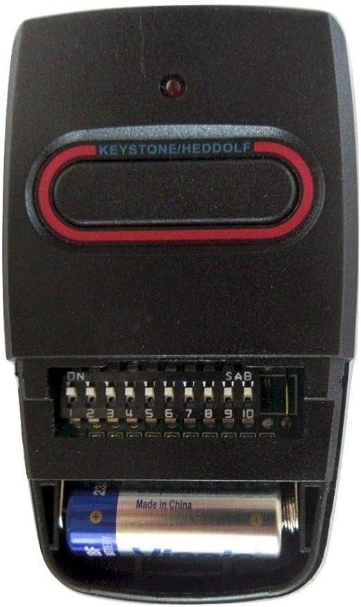Heddolf P294-1KB 12//24V Gate Receiver 318MHz 9 Code Switch Allstar Allister Comp