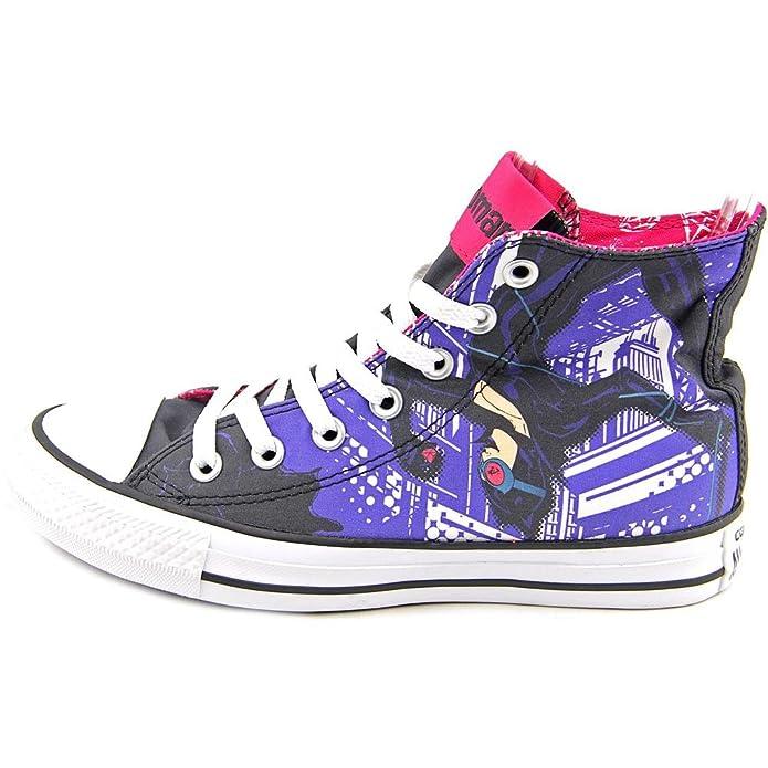 Converse Unisex Chuck Taylor All Star Hi Catwoman Sneaker Black/Multicolor (3) ZrrWtO43