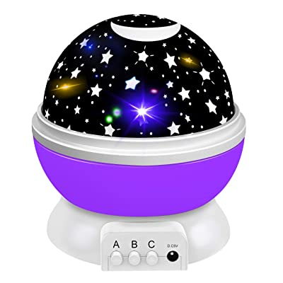 Dreamingbox Toys for 1-10 Year Old Girls Boys, Star Night Lights Projector for Kids Magic Toys for 1-10 Year Old Boys Girls 2020 Birthday Gifts for Boys Girls Purple TGUSYD06: Clothing