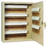 SteelMaster 201916003 Uni-Tag Key Cabinet, 160-Key, Steel, Sand, 16 1/2 x 4 7/8 x 20 1/8