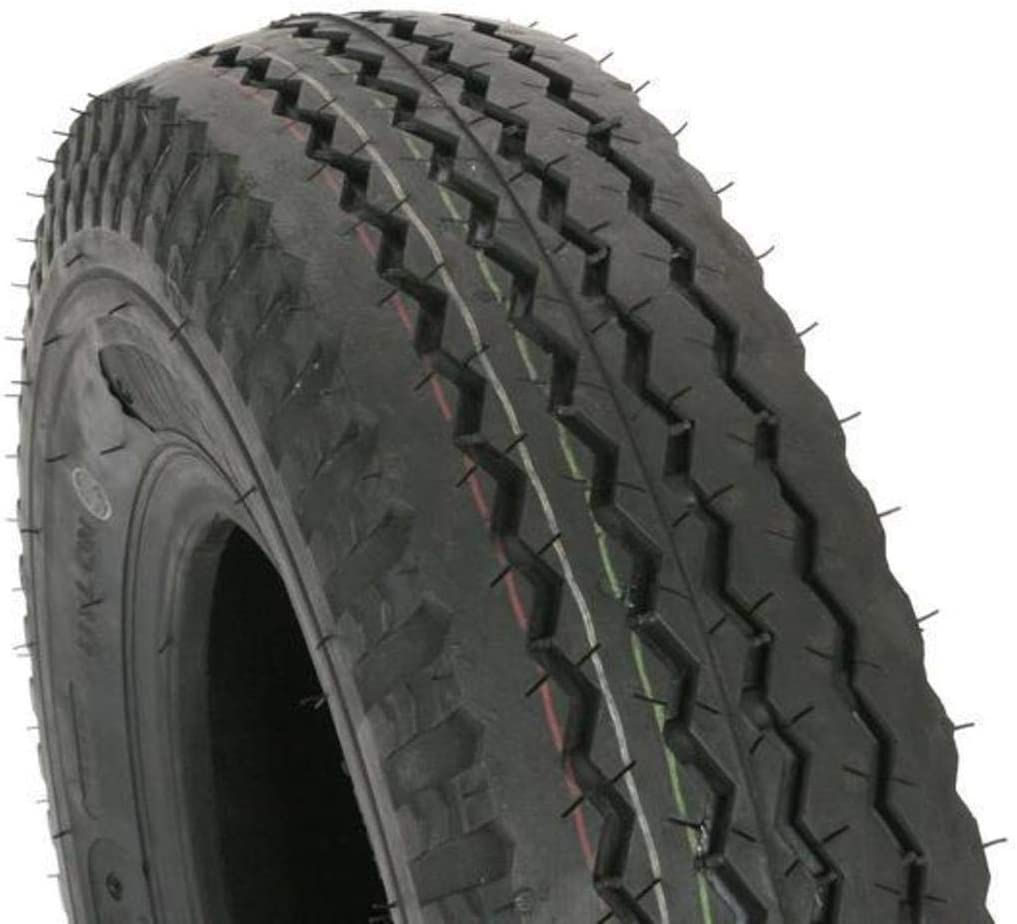 Kenda Trailer Tire - 6-Ply Rated/Load Range C - 4.80/4.00-8, Tire Construction: Bias, Tire Ply: 6, Tire Size: 4.80/4.00-8, Tire Type: Trailer