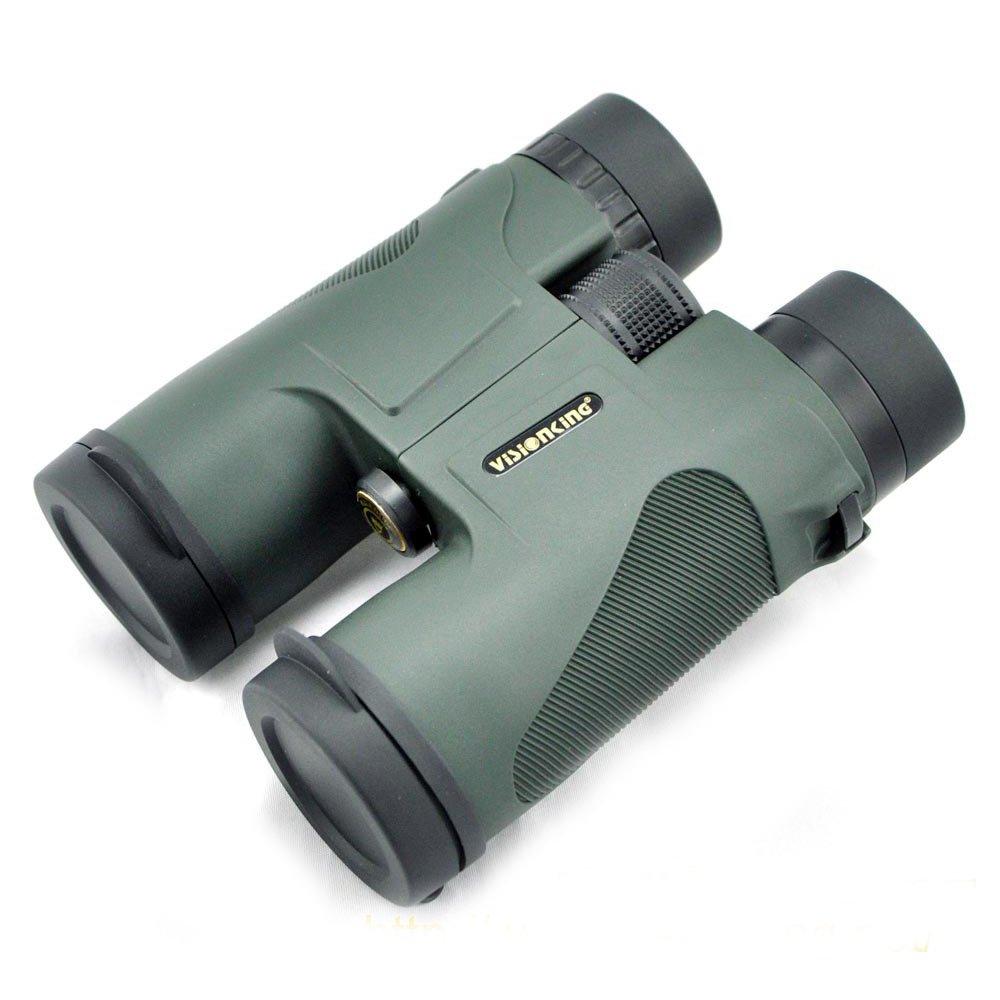 100yds Caza Telescopio Telescopio Telescopio P/ájaros Observaci/ón Deportes Al Aire Libre 10x42 Verde 330ft LU2000 Profesional Telescopio Binoculares
