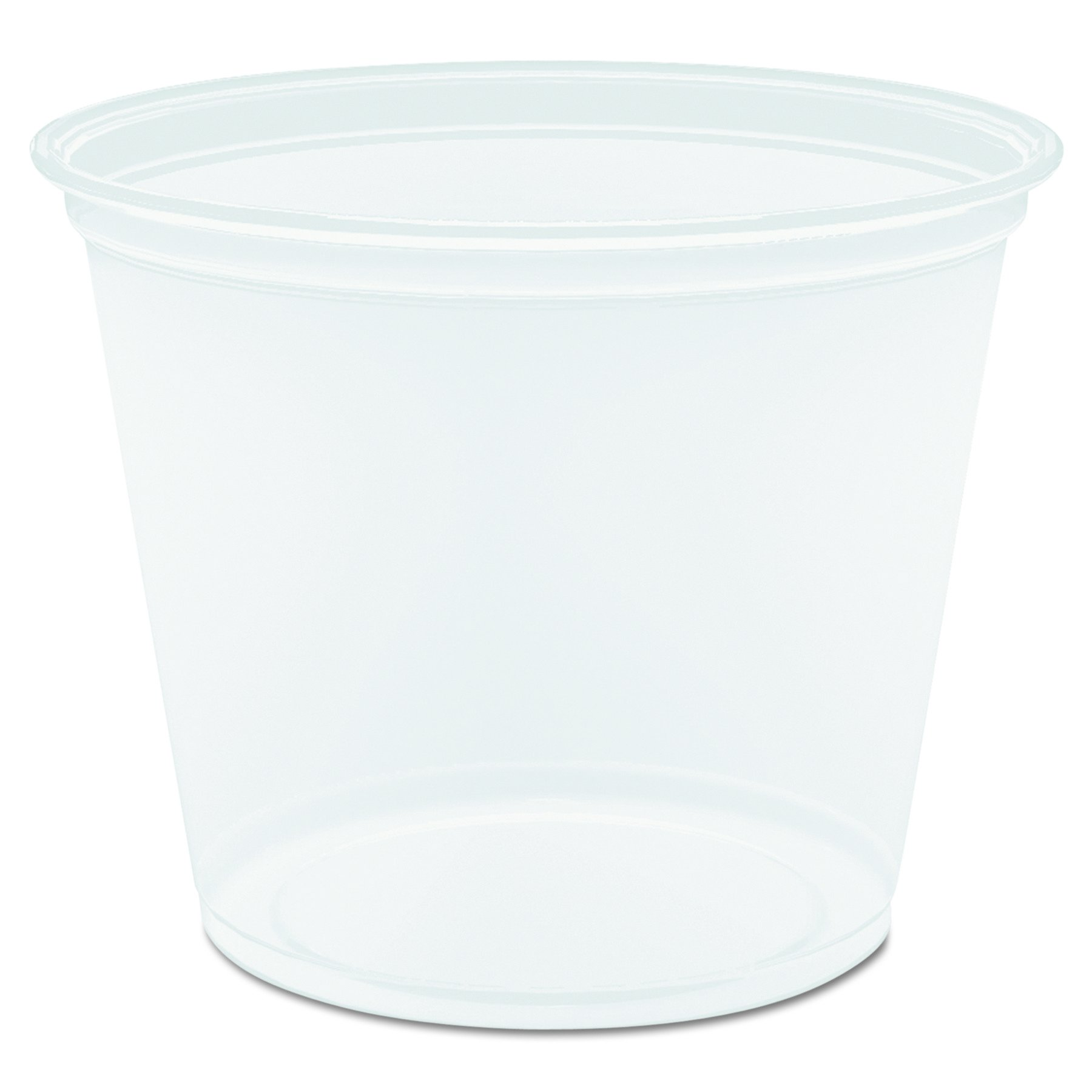DART 550 Piece 2.9'' Top and 2.1'' Bottom Diameter, Clear Conex Complements Plastic Portion Cup, 5.5 oz. by DART