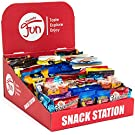 Cookies Chips & Candies Office Snacks Bulk Variety Pack, Includes Display Box (Office Station 100 Count)