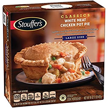 Stouffers White Meat Chicken Pot Pie 16 Oz Frozen Amazon