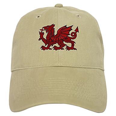 3129c35a6 CafePress Red Welsh Dragon Baseball Cap