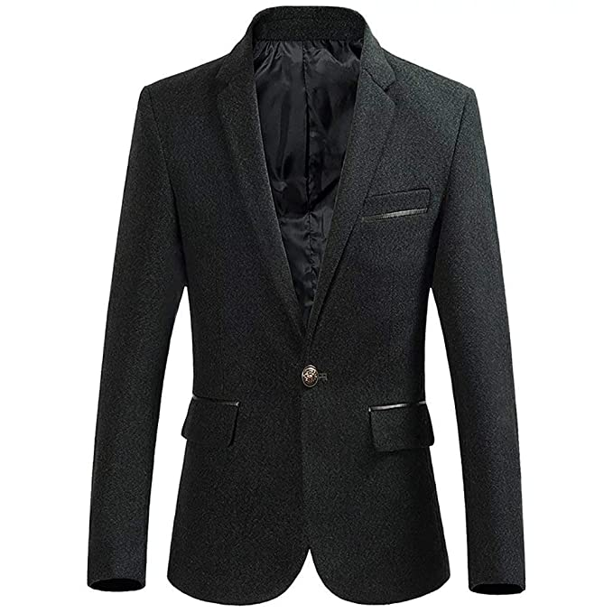 Mens A Tweed Blazer Coat Smart Formal Autumn Dinner Chaqueta ...