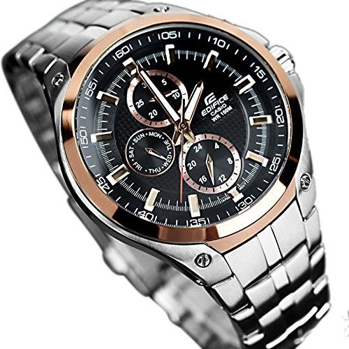 259e190499 Amazon.com: Casio General Men's Watches Edifice Multi Hand EF-326D-1AVDF -  WW: Casio: Watches