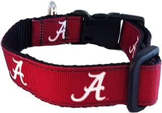 product image for NCAA Alabama Crimson Tide Dog Collar (Team Color, Small)