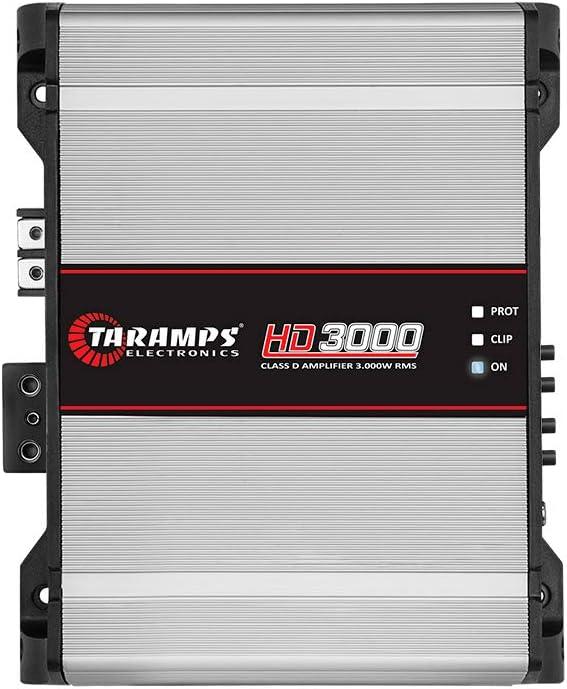 Taramps HD3000-1 Full Range Monoblock Amplifier 3000W 1 Ohm Car Audio