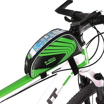 LNLW Accesorios de Bicicleta Bolsa de tija de sillín Bolsa de ...