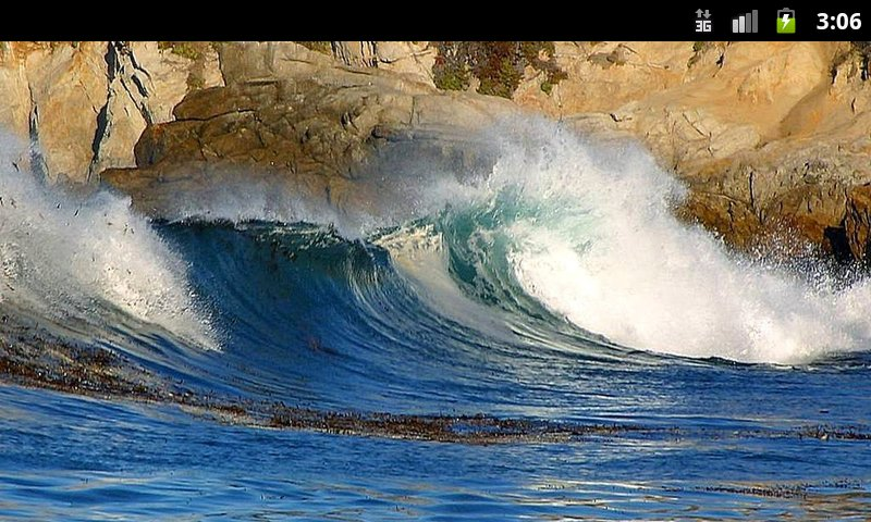 Amazon Com Ocean Waves Live Wallpaper Appstore For Android