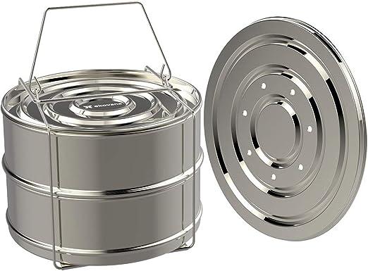 Vapor apilable de 2 capas/vaporizador de olla a presión/hogar ...