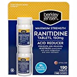 Berkley Jensen 150mg Ranitidine Tablets, 2 pk./95 ct. (pack of 6)
