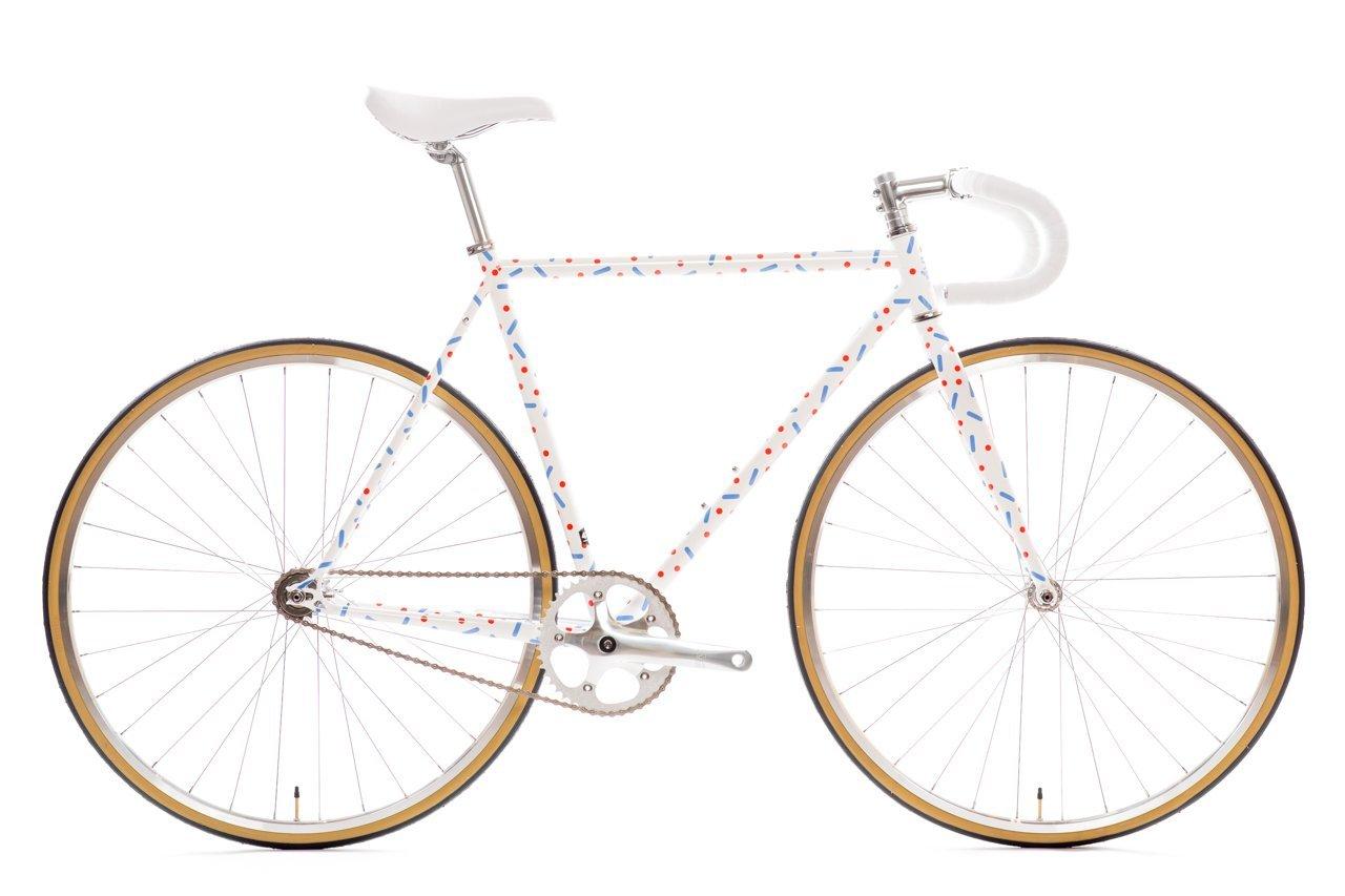 State Bicycle Co。 – 4130 Core Line – 固定ギア/ Fixieシングルスピードバイク、軽量Chromolyフレーム、フリップフロップハブ、withドロップバー B07CNZLG67Pardi B 49cm