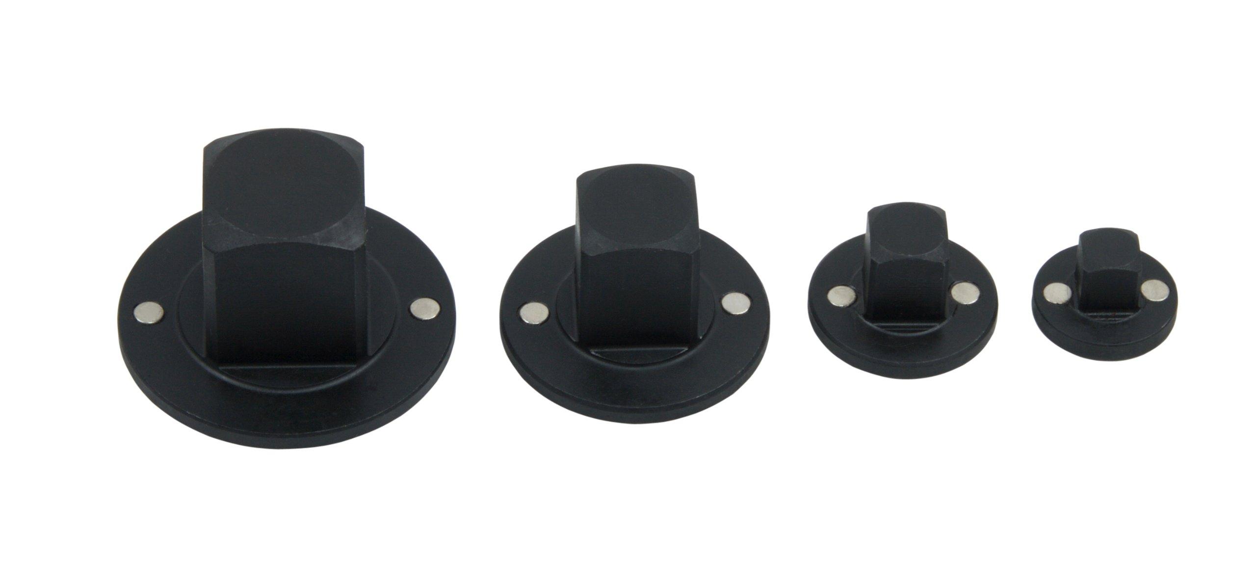 T&E Tools 76346 4 Piece Reducing Socket. Adaptor Set 1/4'' -1''