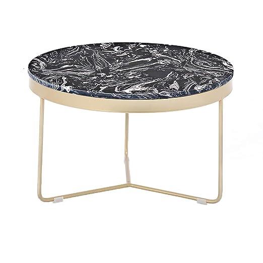 KangJZ-Tables KJzhu Mesa de Centro de mármol de la Sala de Estar ...