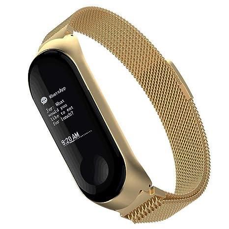 Simpeak Bracelet Compatible avec Xiaomi Mi Band 3, Sangle Bracelet de Remplacement Xiaomi Mi Band 3 Band(5,5