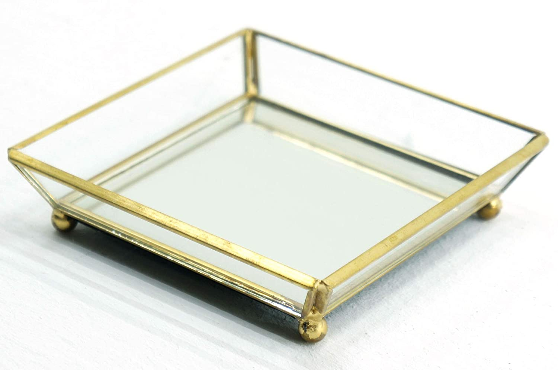 Official Yankee Candle Small versatile mais metallo Scaping vassoio vasetto portacandela di decorazione ornamento specchio piatto My Planet Yankee Candle