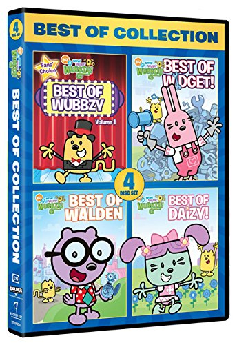 DVD : Wubbzy: Best of Collection (4 Disc)