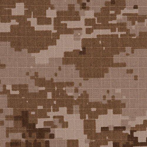 Desert Stalker Digital Camo Cotton Ripstop Desert Camouflage Fabric
