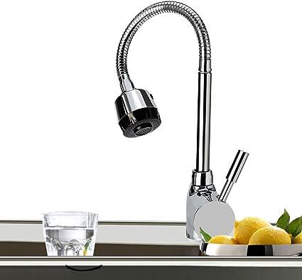 Robinet de Cuisine de Lavabo Avec Rotatif /à 360/° Mitigeur et Chaude Froide Starlight El/égante Design R/étro Bain pour Lavabo Noir Carr/é noir1//2