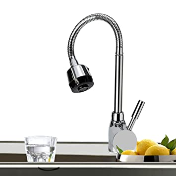 Single Griff Spritze Küche Spüle Wasserhahn 360 drehbar Pull, die ...