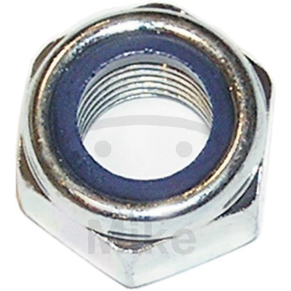 Kunststoffring verzinkt 51 Sechskantsicherungsmuttern mit 100 St/ück Feingewinde M 10 x 1,25 galv niedrige Form Dresselhaus 0//0682//001//10,0//1