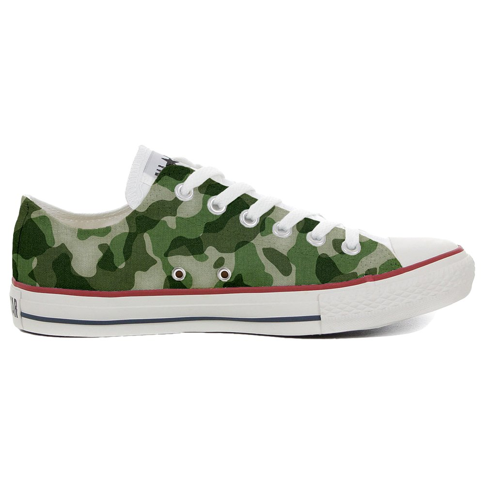 Converse All Star personalisierte Schuhe (Custom Produkt) Slim Military Style B01N9R7ZEI Basketballschuhe Sonderpreis