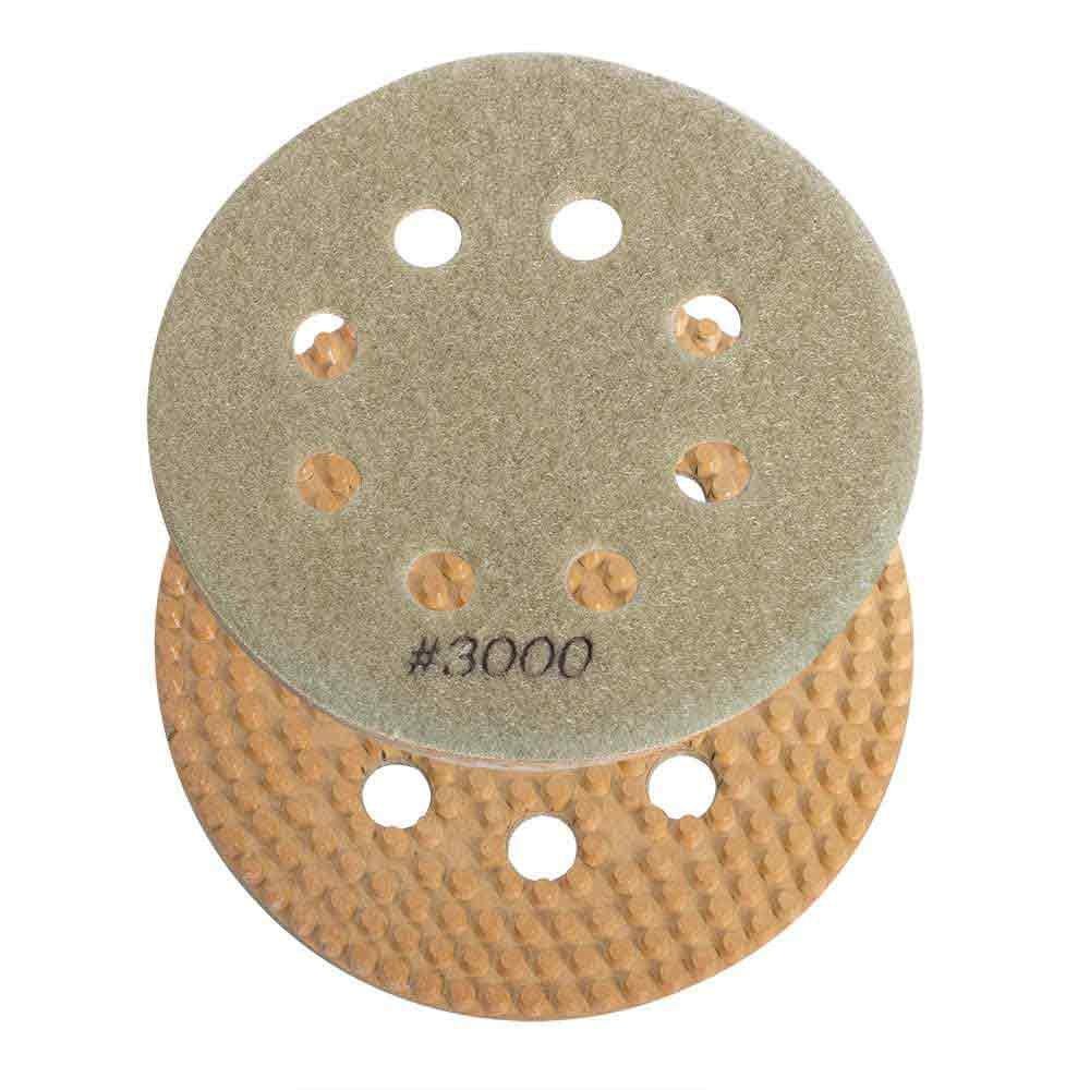 Specialty Diamond BRTD63000 6 Inch 3000 Grit Thin Dry Pad for Orbital Sanders