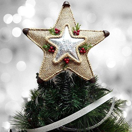 lap Metal Star Tree Topper ()