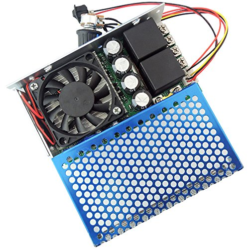 uniquegoods 10-30V 100A 3000W Programable Reversible PWM DC Motor Speed Controller Variable Stepless Control Adjustable Driver With (Programable Controller)