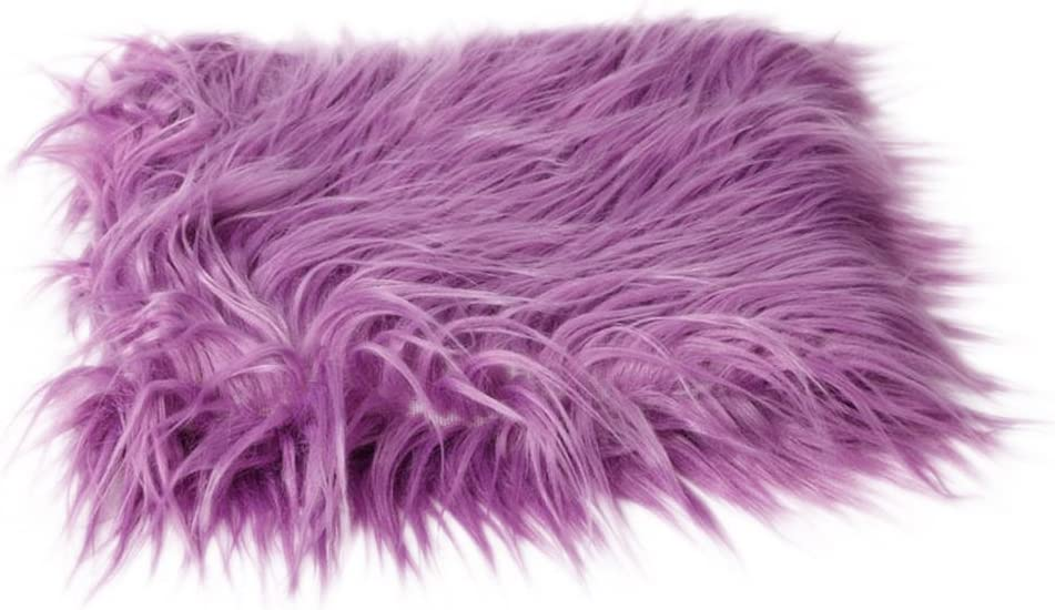 PIXNOR Photographie de DIY Accessoires fourrure douce tapis Photo photographie nouveau-n/é Photo b/éb/é violet