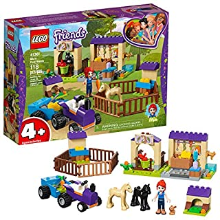 LEGO Friends 4+ Mia's Foal Stable 41361 Building Kit (118 Pieces)