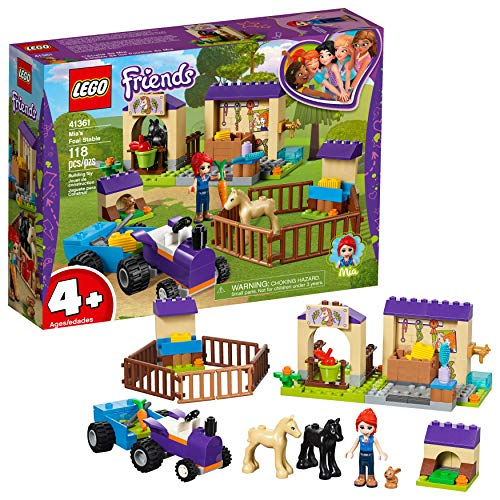 (LEGO Friends 4+ Mia's Foal Stable 41361 Building Kit , New 2019 (118 Piece))