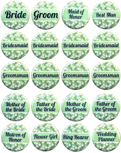 Henry Buttonsmith Wedding Button Primary
