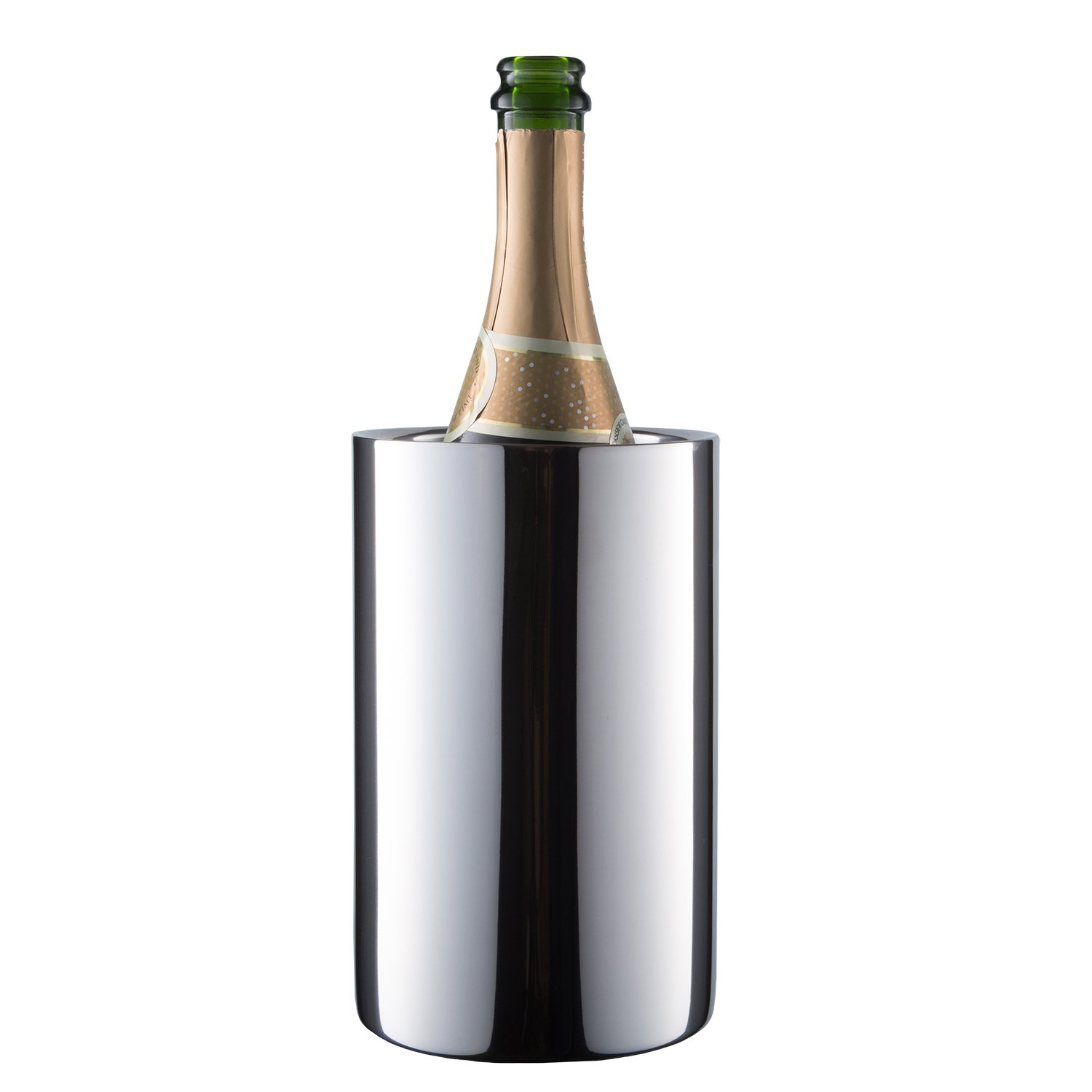 Enoluxe Wine Chiller - Insulated Wine Cooler Bucket/Champagne Bucket - Fits All 750 ml Bottles - Keeps Wine Cold
