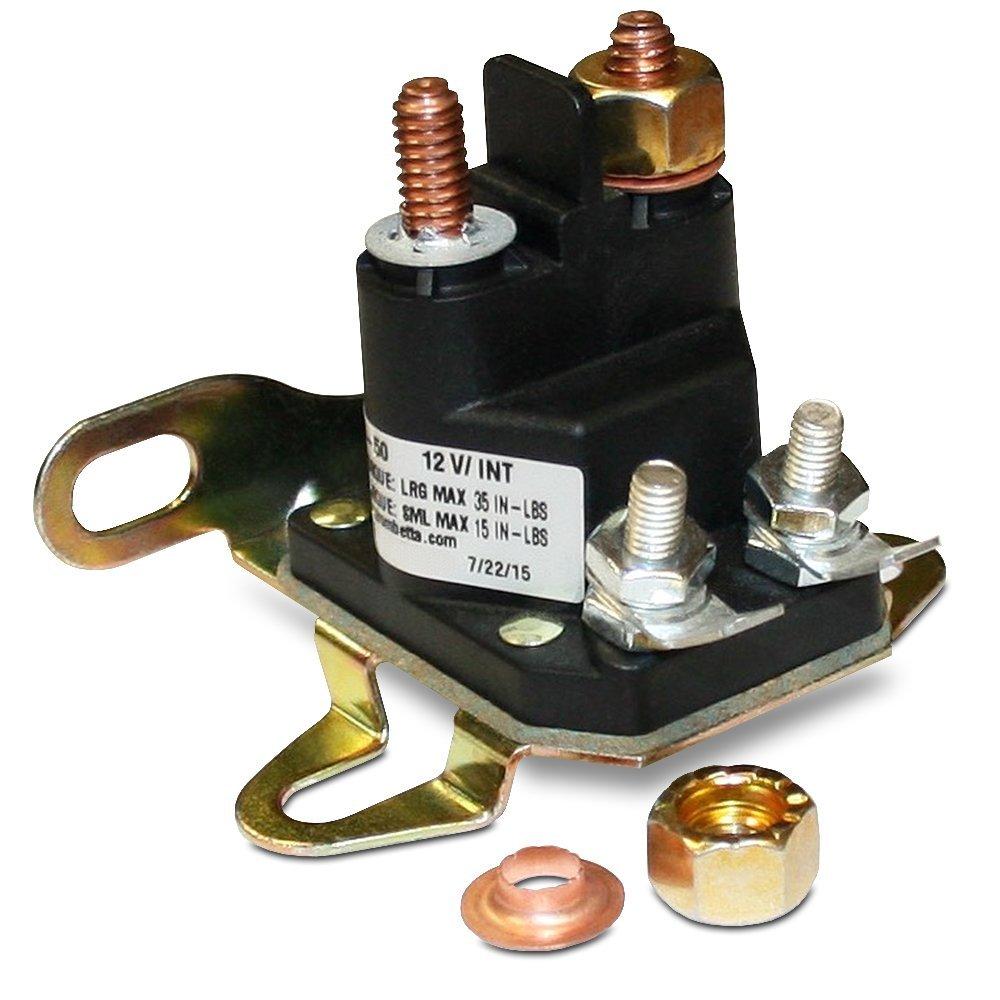 Trombetta 12 Volt Plastic DC Contactor Part No. 892-1251-210: Motor  Contactors: Amazon.com: Industrial & Scientific