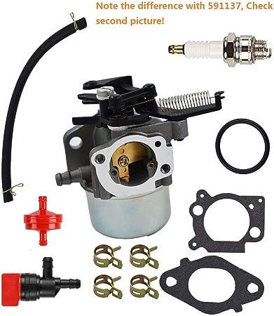 Amazon.com: mdairc Carburador línea de combustible filtro ...