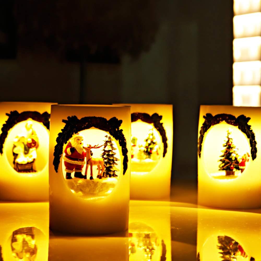 Zylindrische Kerzenlicht Kerzenlicht Kerzenlicht LED-Kerzenlicht Romantische Vorschlag Weihnachtliche Atmosphäre Lichter Hochzeit Geschenk Ornamente,Christmastree B07JK5D78N | Online-Shop  8ad57f