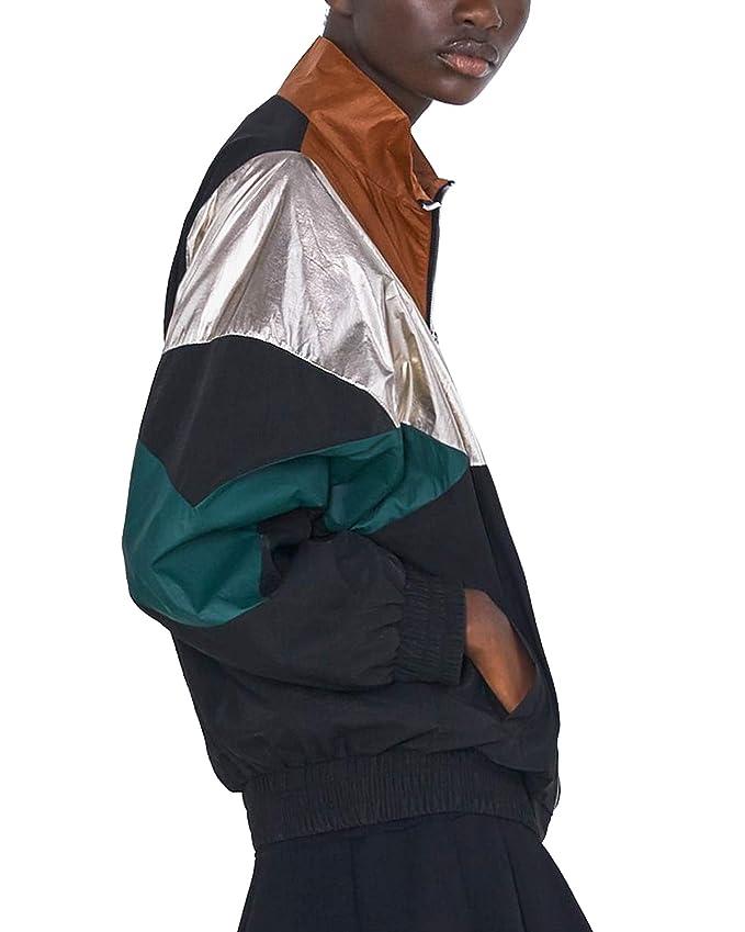 Zara 3046/257/800 - Chaqueta para Mujer Negro M: Amazon.es: Ropa y ...