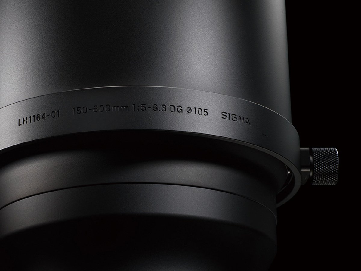 Lens for Canon EF Cameras Sigma 150-600mm F5-6.3 DG OS HSM S