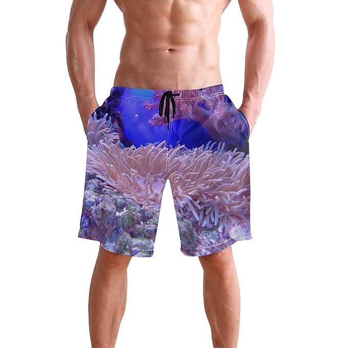 Amazon.com: FCZ - Bañador para hombre, color rosa, coral ...