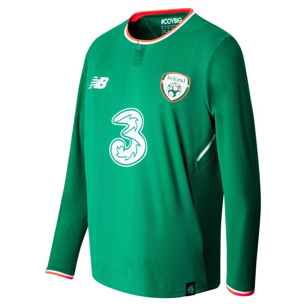 New Balance Jungen Offizielles Fai Merchandise Irland Home Jersey