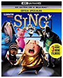 DVD : Sing [Blu-Ray 4K]+[Blu-Ray] [Region Free]