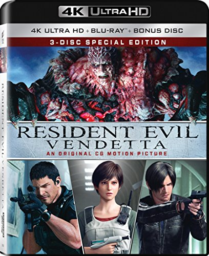 4K Blu-ray : Resident Evil: Vendetta (With Blu-Ray, 4K Mastering, Widescreen, Dubbed, )