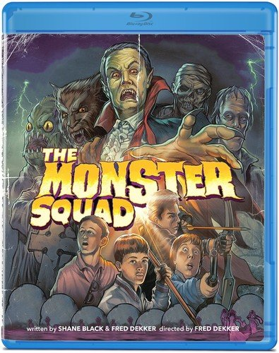 Blu-ray : The Monster Squad (Remastered, Widescreen)